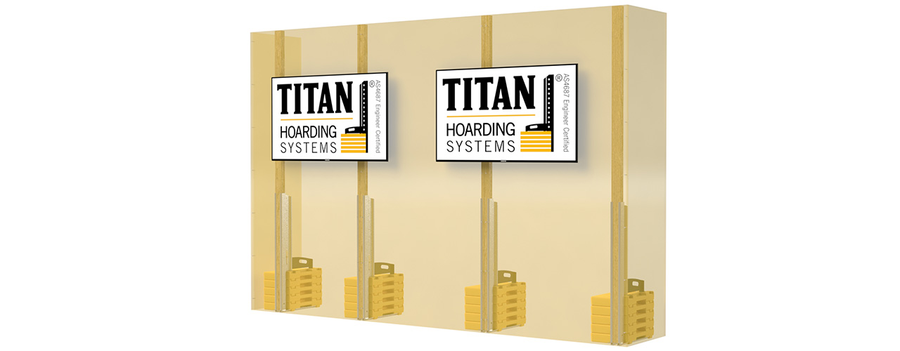 Digital display wall - Hoardings WA