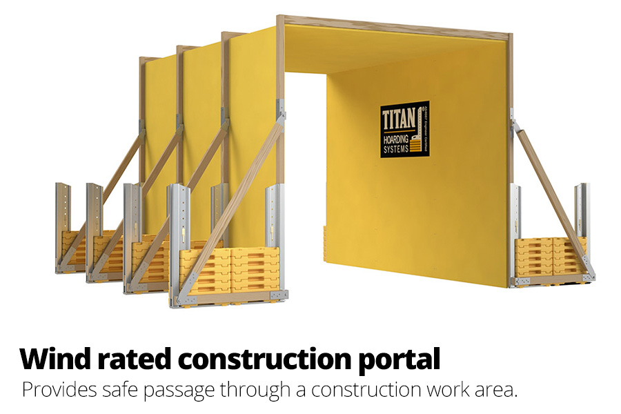 Wind Rated Construction Portal